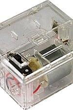 1024-K Motor met batterijhouder (C) met kruisas