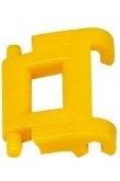 3569-W10-B1Y Kettingschakel geel