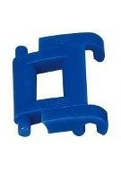 3569-W10-B1B Kettingschakel blauw