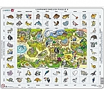 Learning English Puzzle - De Dierentuin | 7 - 11 jaar
