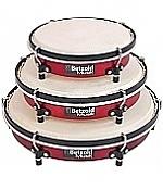 Hand trommel set inclusief draagtas