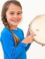 Frame drum Ø 20 cm + klopper