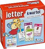 Rompompom Letterkwartet | 4 - 6 jaar