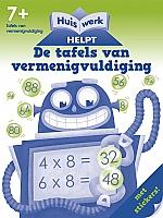 Huiswerk helpt - De tafels van vermenigvuldiging | vanaf 7 jaar
