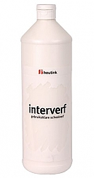Gouache Interverf - 1 Liter Wit