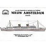 Passagiersschip Nieuw Amsterdan 1:350