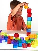Transparante cubes tickit