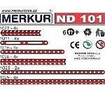Merkur ND 101 banden en hoeken