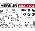 Merkur ND 103 banden en hoeken