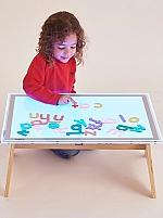 A2 licht paneel met kleurwissel en tafel
