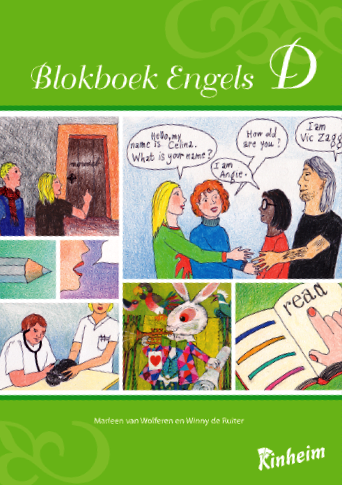 Blokboek Engels D | Groep 5 - 8