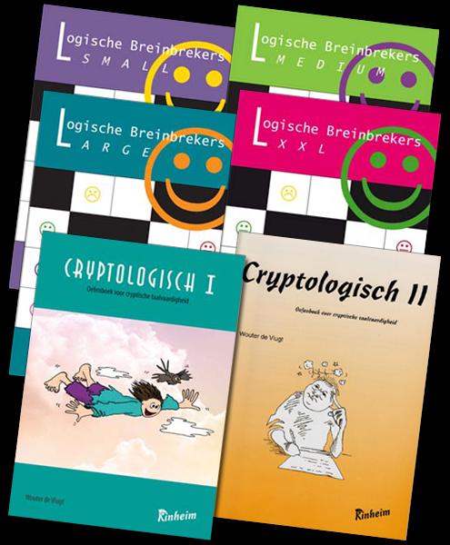 Breinbrekers / Cryptologisch - Totaalpakket | Groep 3 - 8
