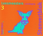Stenvert Leesmeesters | Groep 3