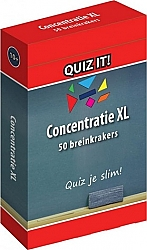 Concentratietraining XL Quiz it!