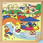 Recreatiepuzzels pretpark Educo