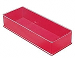 Kunststof doos 11 rood