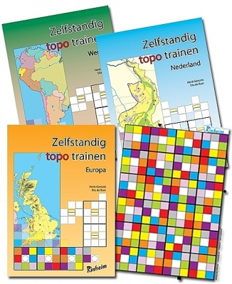 Zelfstandig Topo Trainen Totaalpakket   Groep 6 - 8