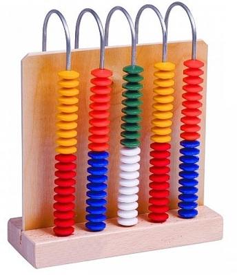 Abacus individueel 5 x 20