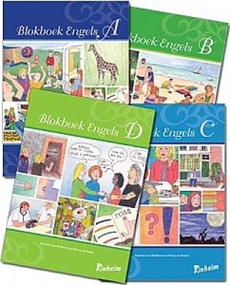 Blokboek Engels Pakket totaal | Groep 5 - 8