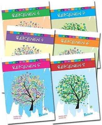Blokboek Rekenen Proefpakket | Groep 3 - 8