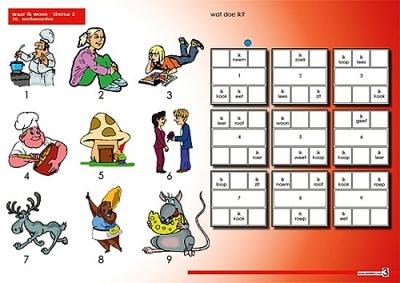 Taalkaarten | Groep 3