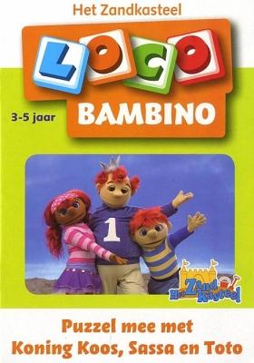 Puzzel mee met Koning Koos, Sassa en Toto   3 - 5 jaar