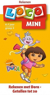 Rekenen met Dora - Getallen tot 20 | 6 - 7 jaar