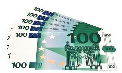 Euro biljetten 100 euro