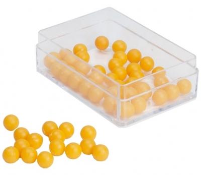 Splitsbox individueel 50 gele ballen