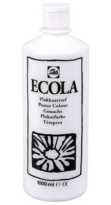 Gouache Ecola 1000 ml wit