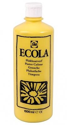 Gouache Ecola 1000 ml geel