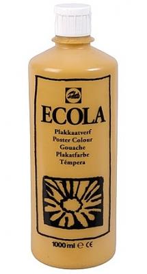 Gouache Ecola 1000 ml okergeel