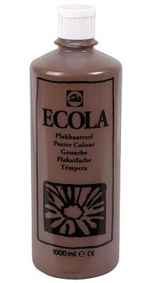 Gouache Ecola 1000 ml bruin