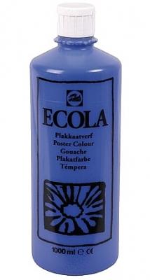 Gouache Ecola 1000 ml donkerblauw