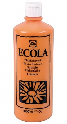 Gouache Ecola 1000 ml oranje