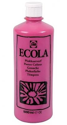 Gouache Ecola 1000 ml tyrisch roze
