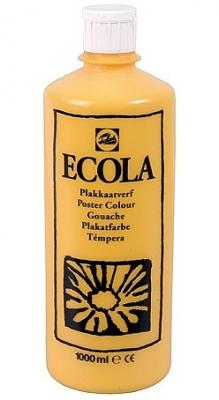 Gouache Ecola 1000 ml donkergeel