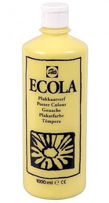 Gouache Ecola 1000 ml citroengeel