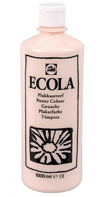 Gouache Ecola 1000 ml huidkleur