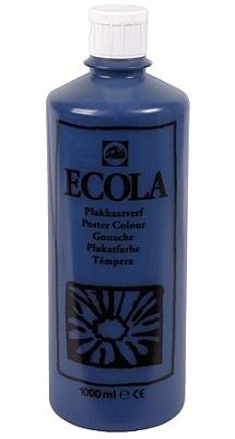 Gouache Ecola 1000 ml pruisisch blauw