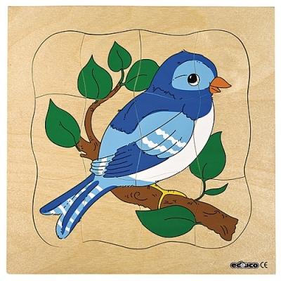 Groeipuzzel vogel Educo
