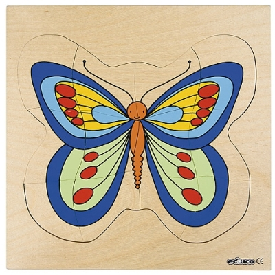 Groeipuzzel vlinder Educo