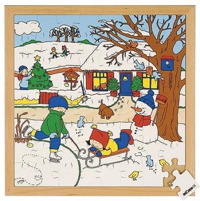 Seizoenenpuzzels 2 de winter