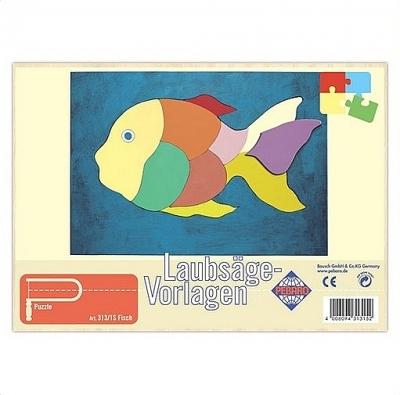 Figuurzaag voorbeeld vis