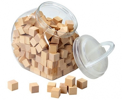 150 houten blokjes