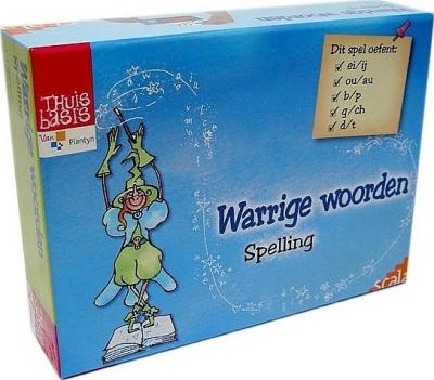 Warrige woorden spelling vanaf 7 jaar