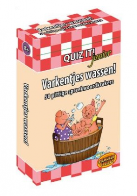 Varkentjes wassen! Quiz it! Junior