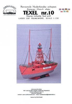 Lichtschip Texel nr. 10 sch. 1:250 framework