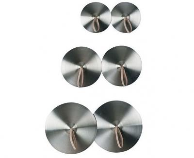 Bekkens zilverbrons doorsnee 25 cm