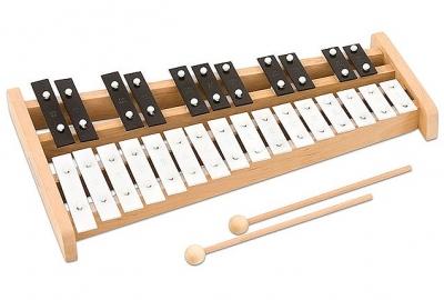 Glockenspiel sopraan chromatisch